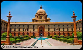 RASHTRAPATI BHAWAN AND PARLIAMENT HOUSE: