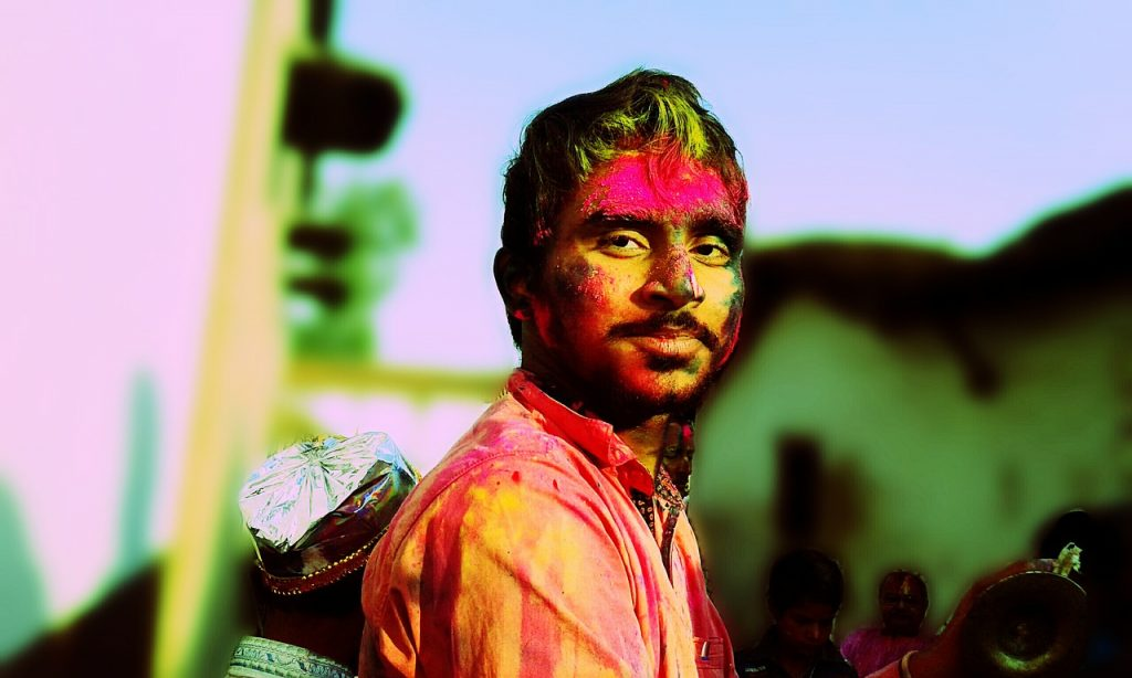 HOLI, THE FESTIVAL OF COLOR IN INDIA: