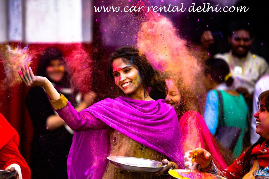 Holi Celebrations in Rajasthan's Jaipur